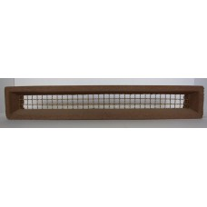 304 Vent Light Brown 455x75 Brass Wire