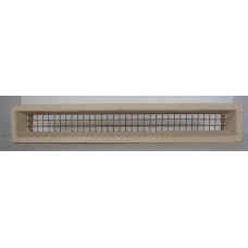307 Vent White 455x75 Brass Wire