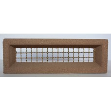 204 Light Brown Vent 230x75 Brass Wire
