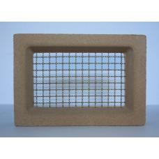 106 Sandstone Vent 230x160 Brass Wire