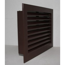 Grille Half Chevron 230x160 brown